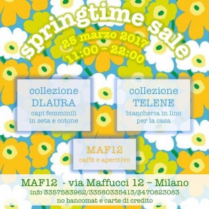 Springtime Sale Evento